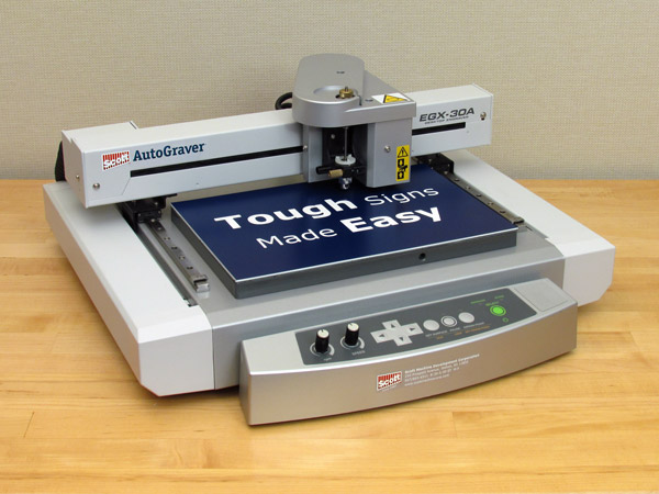Computerized ID Plate Engraving Machine