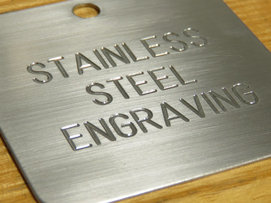 Tips for stainless steel engraving