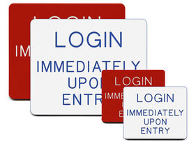 Login Immediately Upon Entry