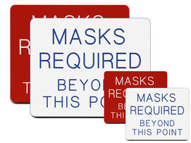 Masks Required Beyond This Point