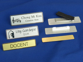 Make or Buy these metal name tags